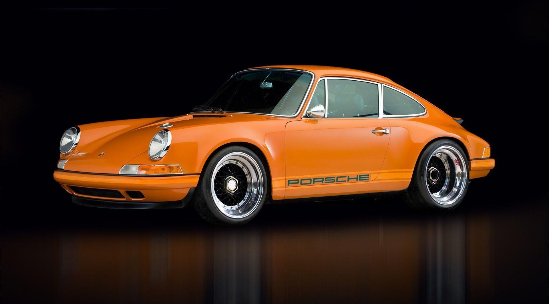 Cabinet Gicquel Porsche Orange